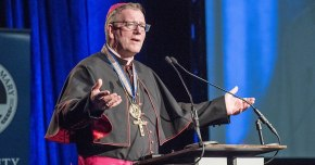 Bishop Barron Receives Lumen Vitae Award