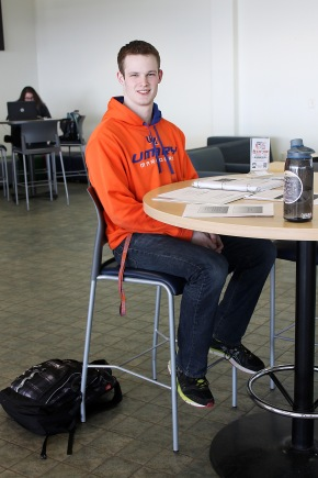 Humans of UMary: Aaron Irmen